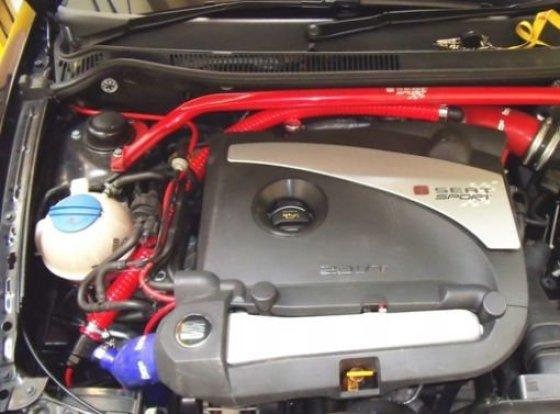 Forge Schubumluftsystem für SEAT Ibiza 6L 1.8T