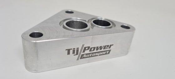 2.8 / 2.9l 12V VR6 Ölfilterflansch für Turboumbauten