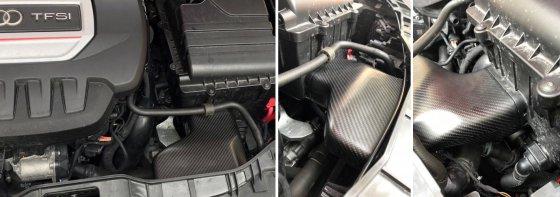 NL-Carbon Ansaugluftführung für Audi S1 8X 231 PS