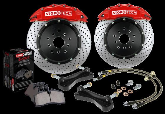 StopTech VA Bremsanlage für Mercedes-Benz E-Class E250 D (W210) 95-02