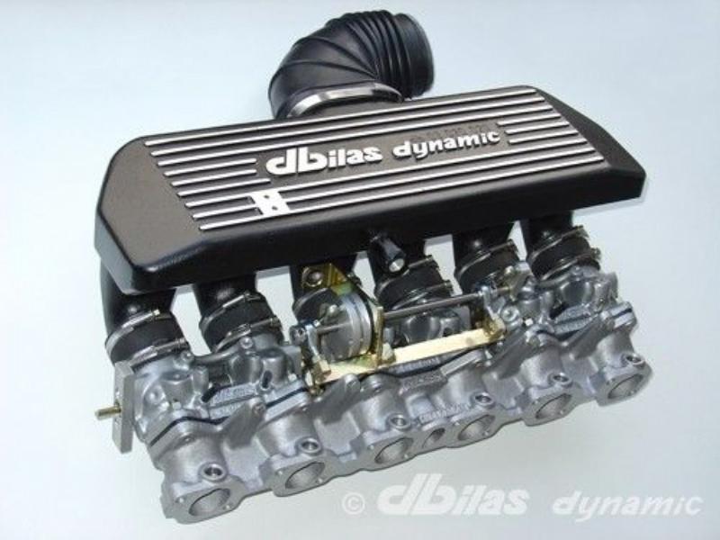 Throttle body kit for BMW 320i, 323i, E30 / 520i, 523i, E34 2,0-2,7 12V M20