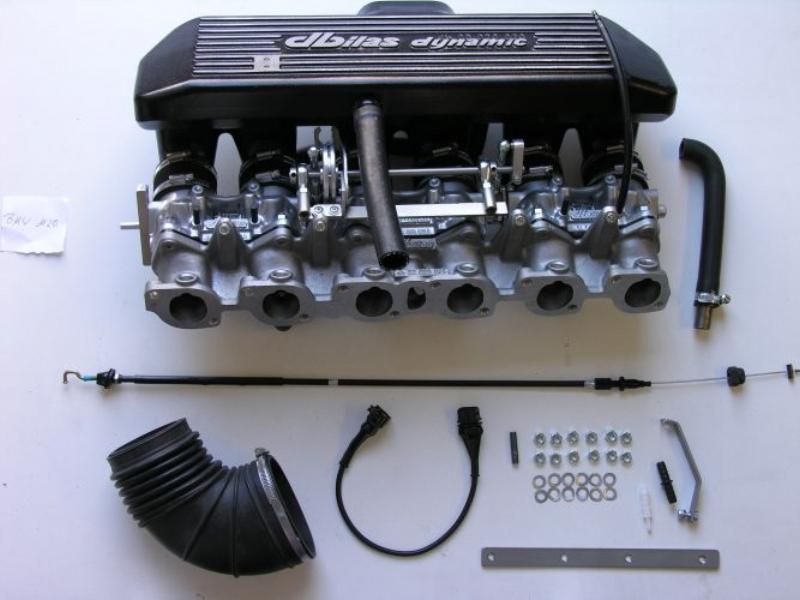 Einzeldrosselklappen- Einspritzung BMW 320i, 323i, E30 / 520i, 523i, E34  2,0-2,7 12V M20