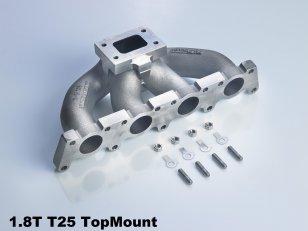 Tij-Power T25 K16 Topmount Gusskrümmer für 1.8T D5S