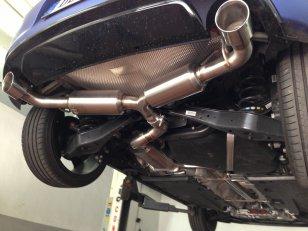 DTH Abgasanlage Sport für Scirocco R