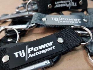 Tij-Power Schlüsselanhänger mit Karabiner