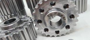 Gefrästes Billet Kurbelwellenrad / Zahnriemenrad für 2.7l Bi-Turbo