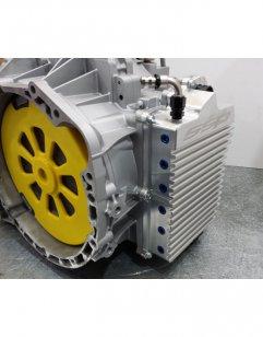 SSP Aluminium Ölwanne seitlich für Evo X DCT